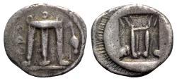 Ancient Coins - Bruttium, Kroton, c. 480-430 BC. AR Stater