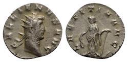 Ancient Coins - Gallienus (253-268). Antoninianus - Mediolanum - R/ Laetitia