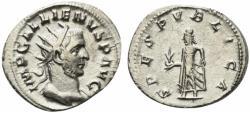 Ancient Coins - Gallienus (253-268). Antoninianus. Mediolanum. R/ SPES