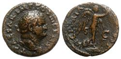 Ancient Coins - Titus (Caesar, 69-79). Æ As - Rome - R/ Victory