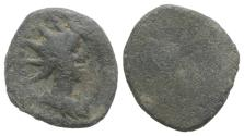 Ancient Coins - Roman PB Tessera, c. 1st century BC - 1st century AD. Radiate and draped bust of Sol