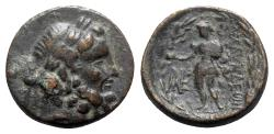 Ancient Coins - Lydia, Blaundos, 2nd-1st centuries BC. Æ - Zeus / Hermes