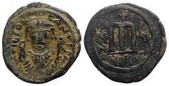 Ancient Coins - Tiberius II (578-582). Æ 40 Nummi - Nicomedia, year 7