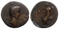Ancient Coins - Augustus (27 BC-AD 14). Spain, Irippo. Æ Semis