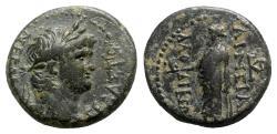 Ancient Coins - Nero (54-68). Phrygia, Laodicea ad Lycum. Æ - Aineias, magistrate