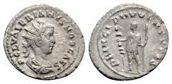 Ancient Coins - Valerian II (Caesar, 255-256). AR Antoninianus - Rome