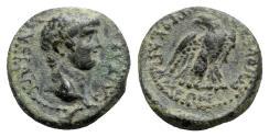 Ancient Coins - Nero (54-68). Phrygia, Apamea. Æ - M. Vettius Nigrus, magistrate - RARE