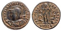 Ancient Coins - Licinius II (Caesar, 317-324). Æ Follis - Alexandria