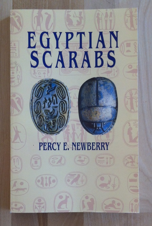 Ancient Coins - Percy E. Newberry  - Egyptian Scarabs