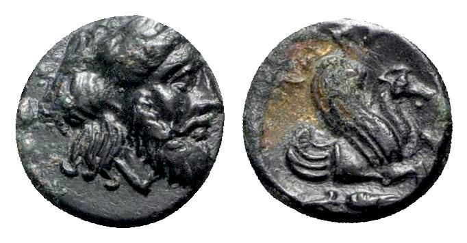 Ancient Coins - Mysia, Adramytion, c. 4th century BC. Æ