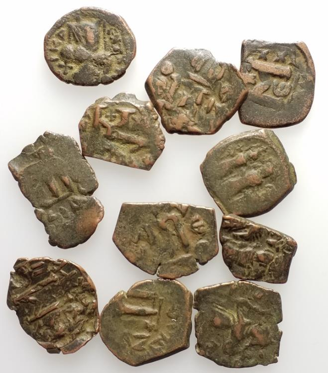 Ancient Coins - Group of 11 Byzantine Æ coins, to be catalog