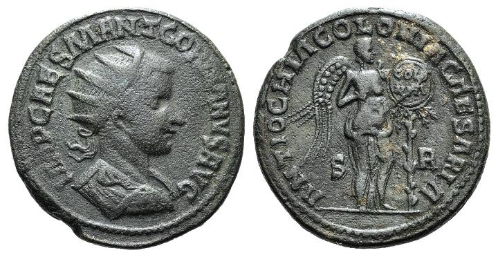 Ancient Coins - Gordian III (238-244). Pisidia, Antiochia. AE 34mm R/ Victory  VERY RARE