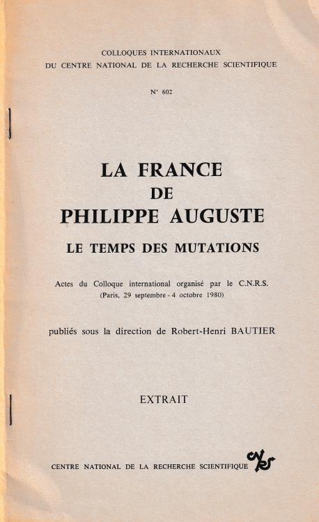 """Ancient Coins - Dumas F., La monnaie dans le royaume au temps de Philippe-Auguste. Reprinted from """"La France de Philippe Auguste Le temps des mutations"""""""