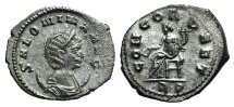 Ancient Coins - SALONINA, wife of Gallienus. Augusta, 254-268 AD. AR Antoninianus EXTREMELY FINE and RARE