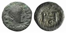 OSTROGOTHS. Athalaric. 526-534. Æ Nummus R/ MONOGRAM