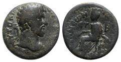 Ancient Coins - Lucius Verus (161-169). Cappadocia, Tyana. Æ - R/ Tyche