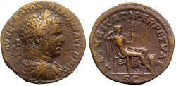 Ancient Coins - Caracalla (198-217). Æ Sestertius - Rome - R/ Securitas
