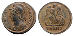 Ancient Coins - Commemorative Series, c. 330-354. Æ Follis - Antioch - R/ Victory