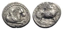 Ancient Coins - Cilicia, Kelenderis, c. 410-375 BC. AR Obol