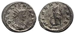 Ancient Coins - Gallienus (253-268). Antoninianus - Antioch - R/ Minerva