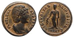 Ancient Coins - Helena (Augusta, 324-328/30). Æ Follis - Antioch - R/ Securitas