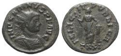 Ancient Coins - Carinus (283-285). Radiate. Ticinum, AD 283. R/ Felicitas