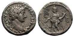 Ancient Coins - Hadrian (117-138). Egypt, Alexandria. BI Tetradrachm - year 2 - R/ Tyche