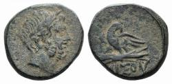 Ancient Coins - Pontos, Amisos, time of Mithradates VI, c. 85-65 BC. Æ 21mm R/ EAGLE