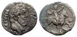 Ancient Coins - Antoninus Pius (138-161). Egypt, Alexandria. BI Tetradrachm - year 20 - R/ Emperor on horseback