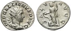 Ancient Coins - Gallienus (253-268). Antoninianus. Viminacium, 253-256. R/ SALUS