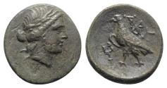 Ancient Coins - Troas, Abydos, 4th-3rd century BC. Æ