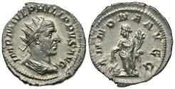 Ancient Coins - Philip I (244-249). AR Antoninianus. Rome, 244-7.  R/ Annona EXTREMELY FINE