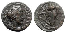 Ancient Coins - Marcus Aurelius (161-180). Ionia, Ephesus(?). Æ - R/ Tyche