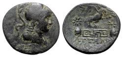 Ancient Coins - Phrygia, Apameia, c. 100-50 BC. Æ - Attalos and Bianoros, magistrates