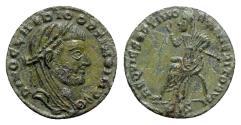 Ancient Coins - Divus Claudius II (died AD 270). Æ Half Follis - Siscia