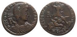 Ancient Coins - Constantius II (337-361). Æ - Aquileia