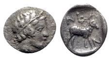 Ancient Coins - Troas, Neandria, 4th century BC. AR Obol