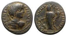 Ancient Coins - Caracalla (198-217). Caria, Peltae. Æ - T. Arion, strategos