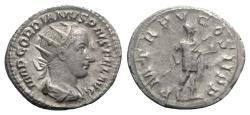 Ancient Coins - Gordian III (238-244). AR Antoninianus. Rome, 241-3. R/ GORDIAN