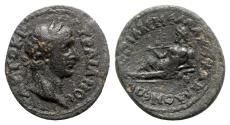 Ancient Coins - Trajan (98-117). Phrygia, Acmonea. Æ - Menemachos, grammateus - RARE