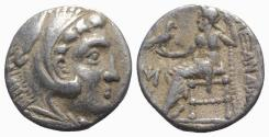 Ancient Coins - Ionia, Miletos, c. 295/0-275/0 BC. AR Drachm. In the name and types of Alexander III of Macedon.