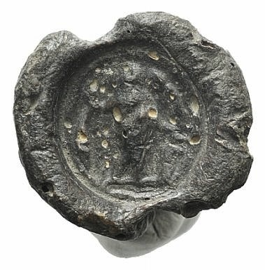 Ancient Coins - Egypt, Antinoöpolis area, c. 2nd-3rd century. PB Seal.