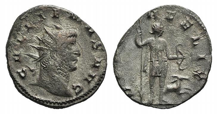 Ancient Coins - Gallienus (253-268). Antoninianus. Mediolanum, 263-264. R/ DIANA