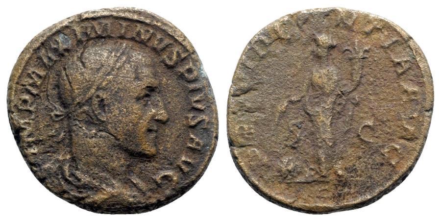 Ancient Coins - Maximinus I (235-238). Æ Sestertius - R/ Providentia
