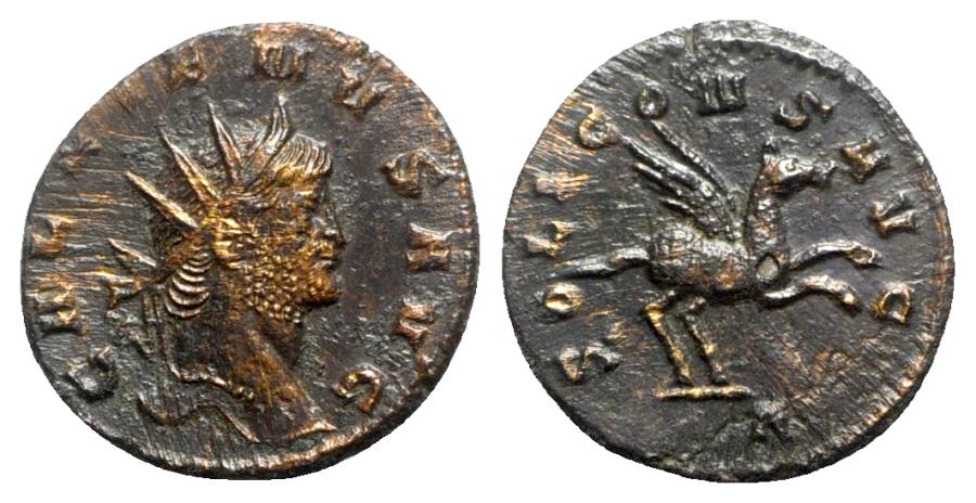 Ancient Coins - Gallienus (253-268). Antoninianus - Rome - R/ Pegasus
