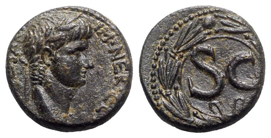 Ancient Coins - Nero (54-68). Seleucis and Pieria, Antioch. Æ