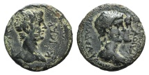 Ancient Coins - Gaius (Caligula, 37-41). Lydia, Philadelphia. Æ 17mm