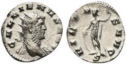 Ancient Coins - Gallienus (253-268). Antoninianus. Rome, 260-8.  R/ VIRTUS