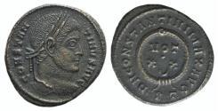 Ancient Coins - Constantine I (307/310-337). Æ Follis. Ticinum, 322-325.