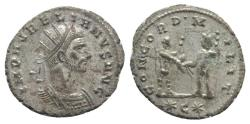 Ancient Coins - Aurelian (270-275). Radiate. Cyzicus.